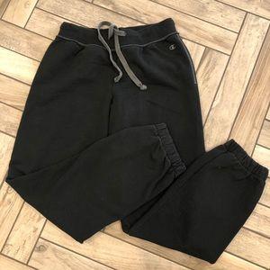 CHAMPION Sweatpants - Jogger Style Black SZ S